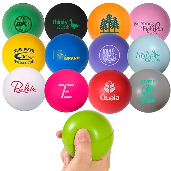 Promotional Handcrafted Round Stress Reliever