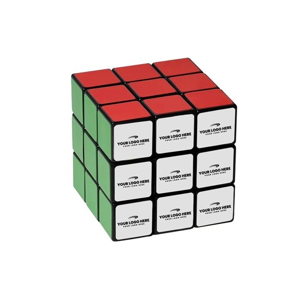 Promotional 9- Panel Full Stock Custom Rubiks Cube