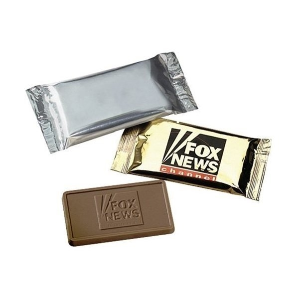 Promotional Foil Wrapped 1 oz Chocolate Bar