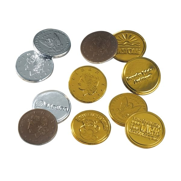 Promotional Stock Chocolate Coins