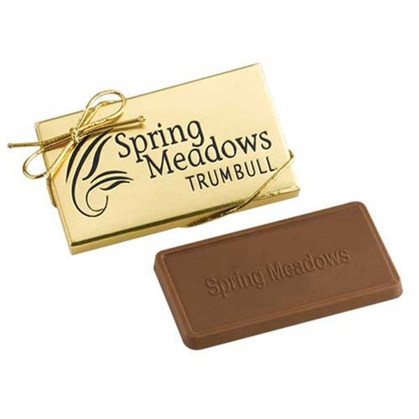 Promotional Custom Molded Chocolate in Gift Box