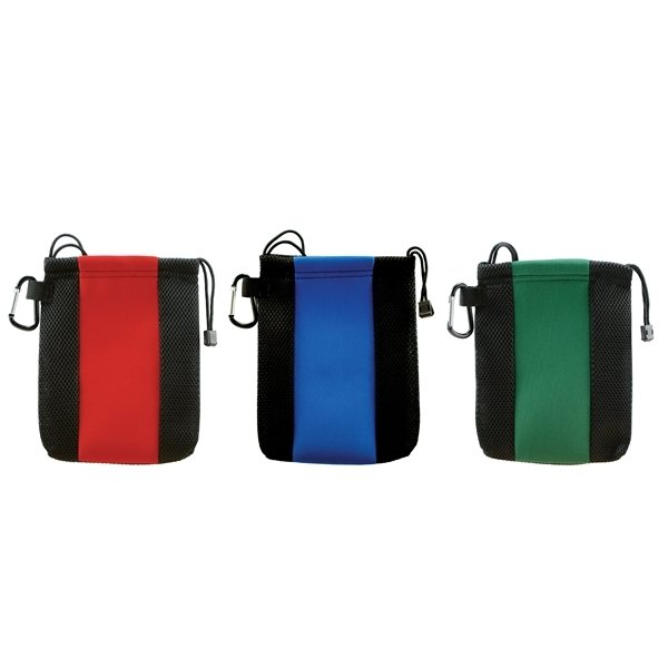 Promotional Deluxe Golf Tote w / Carabiner