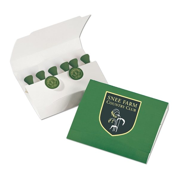 Promotional Premium Basics Golf Tees and Ball Marker Set