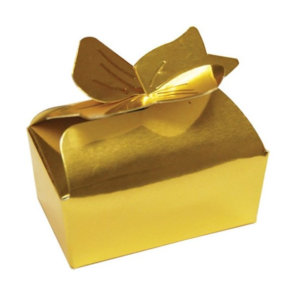 Promotional 2 Chocolate Truffles in Bow Box