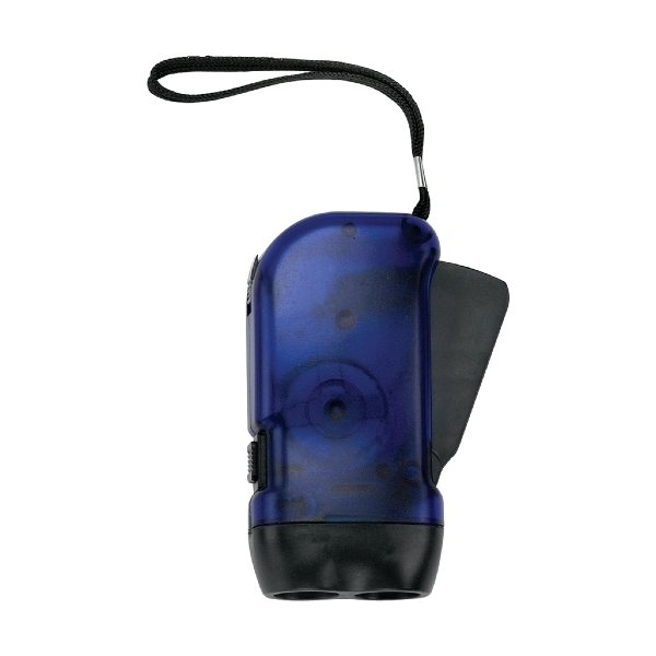 Promotional Battery Free Hand Crank LED Flashlight