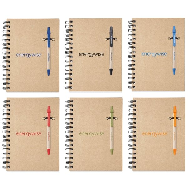 Promotional Ecologist Notebook Combo - 5 3/4 x 8 1/4
