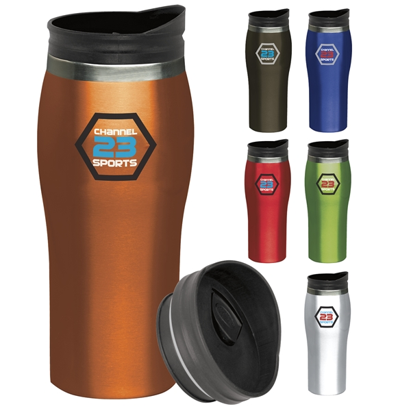 Promotional 15 oz Stainless Steel Sydney Tumbler