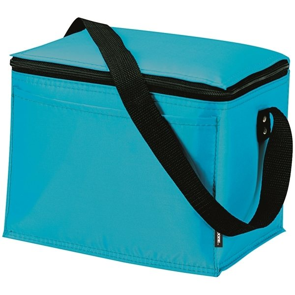 Promotional KOOZIE Polyester Zippered Cooler - 6 Can