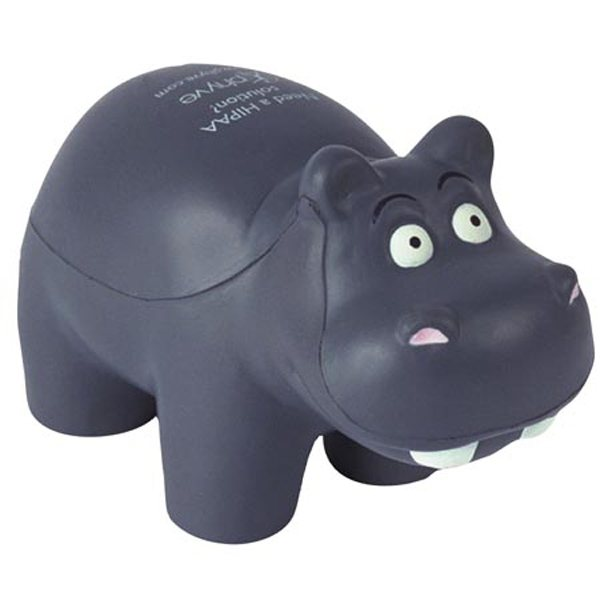Promotional Hippo - Stress Relievers