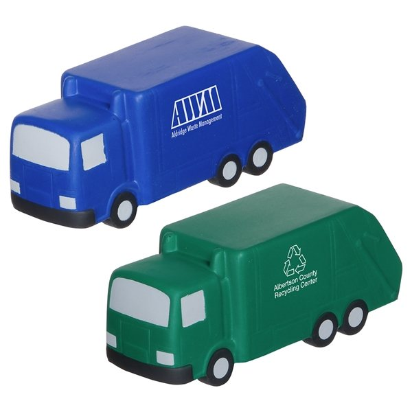 Promotional Garbage Truck - Stress Relievers