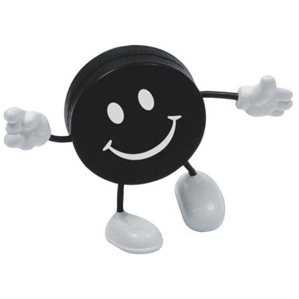 Promotional Hockey Puck Figure - Stress Relievers