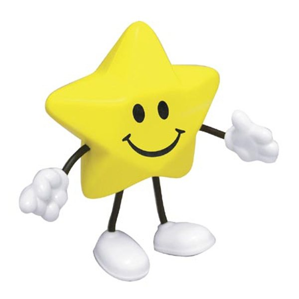 Promotional Star Figure - Stress Relievers