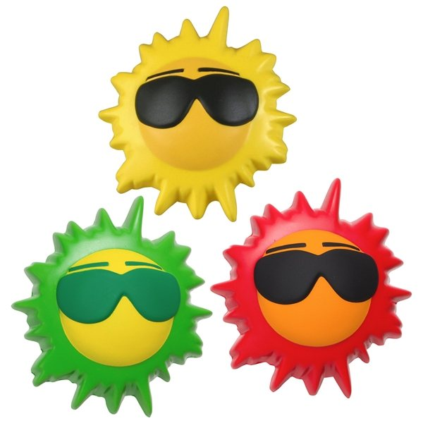 Promotional Cool Sun - Stress Relievers