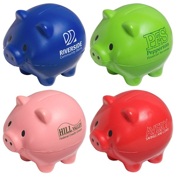 Promotional Thrifty Pig - Stress Relievers