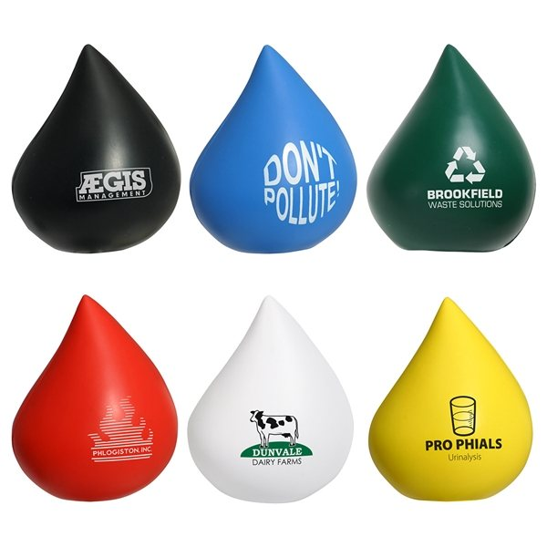 Promotional Droplet - Stress Relievers