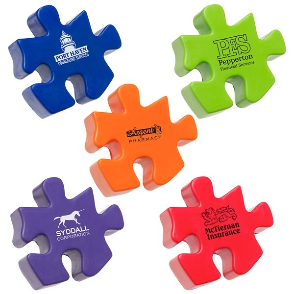 Promotional Puzzle Piece - Stress Relievers