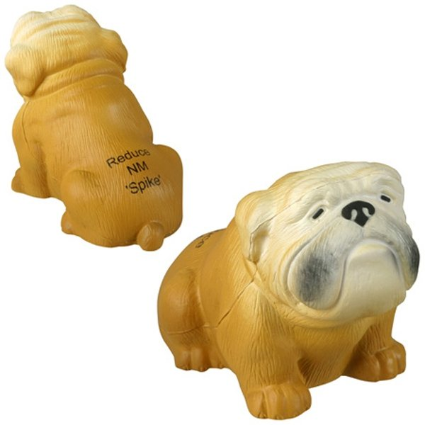 Promotional Bulldog - Stress Relievers