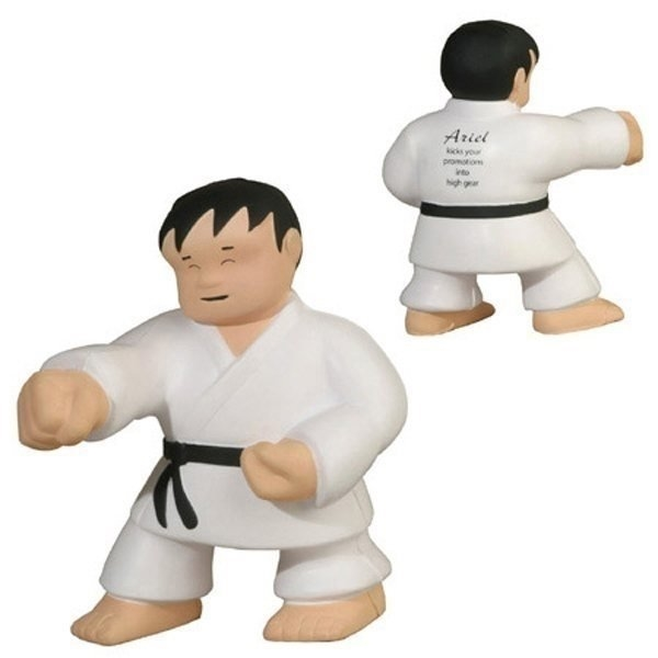 Promotional Karate Man - Stress Relievers