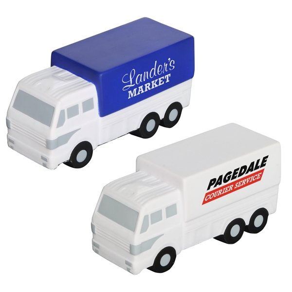 Promotional Delivery Truck - Stress Relievers