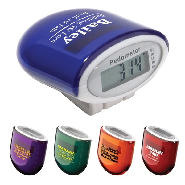 Promotional Acrylic Casing Cosmic Solar Pedometer