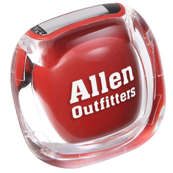 Promotional Acrylic Cover Clearview Multifunction Pedometer