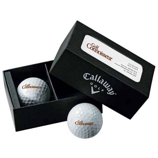 Promotional Callaway(R) Business Card Box - Warbird(R) Plus