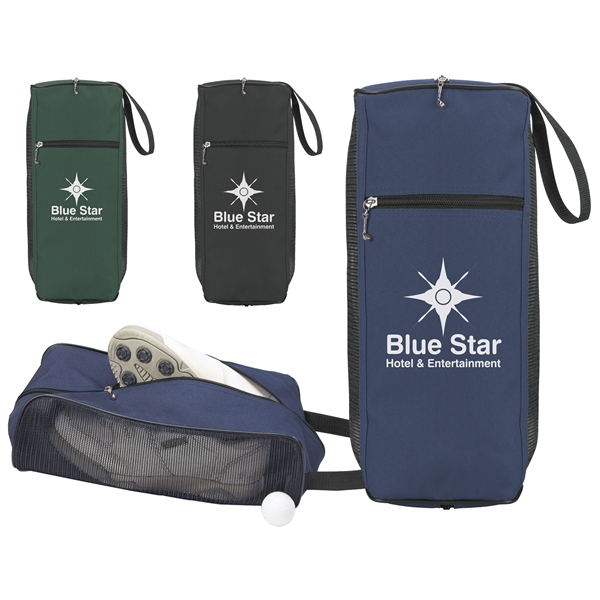 Promotional Golf Mesh Shoe Bag