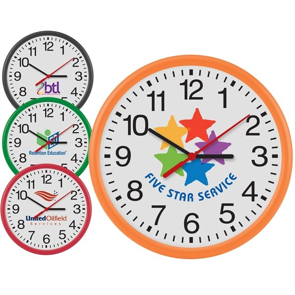 Promotional 12 Thin Frame Wall Clock