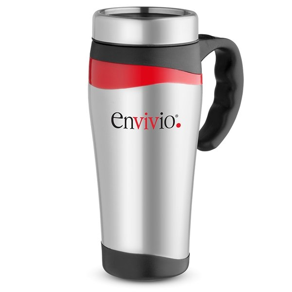 Promotional 16 oz Color Touch Stainless Mug