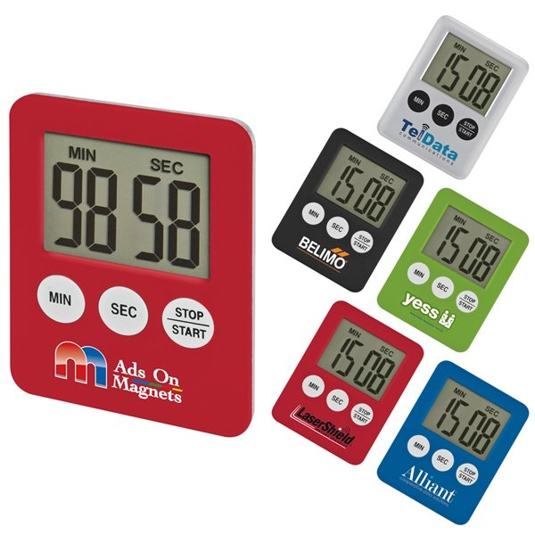 Promotional Tiny Tot Magnetic Timer