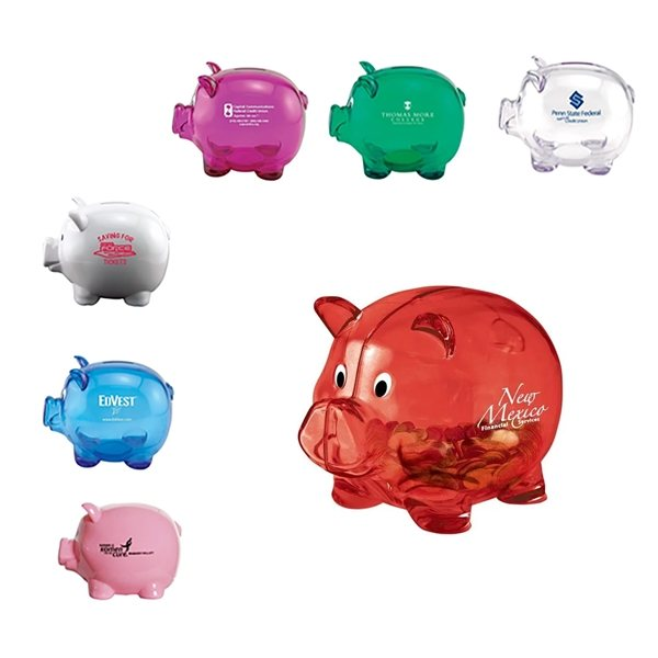 Promotional Mr. Piggy Bank