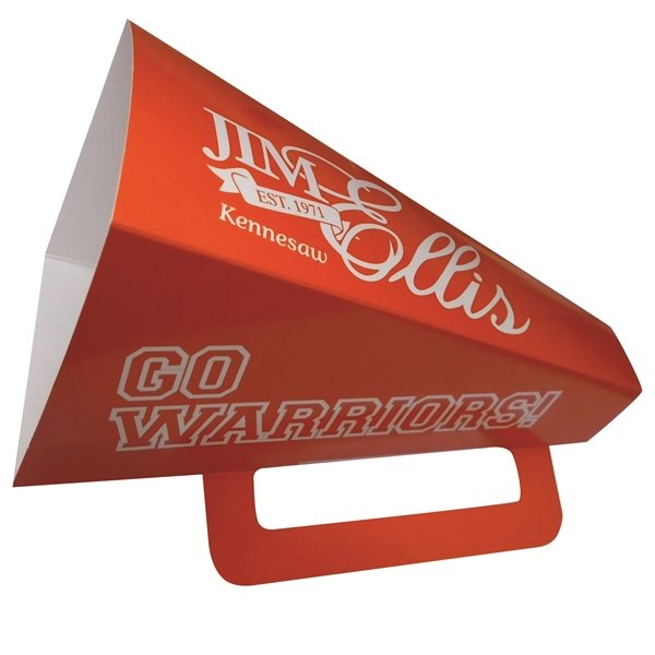 Promotional Square 9 Megaphone - Paper Products