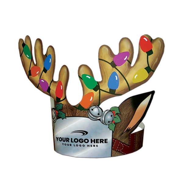 Promotional Multi - Color Antlers - Paper Products
