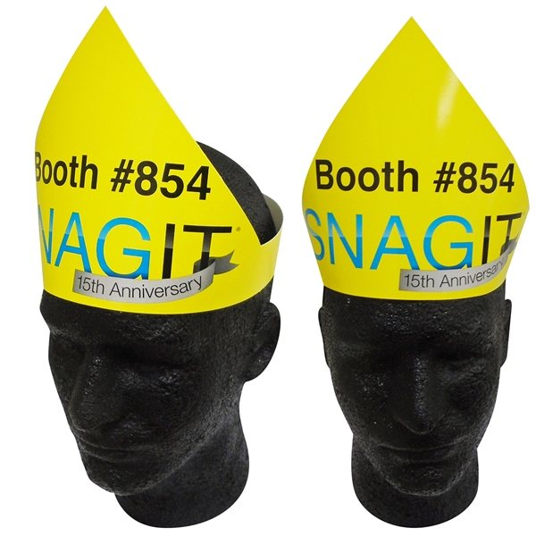 Promotional Laminated WitchS / Party Hat