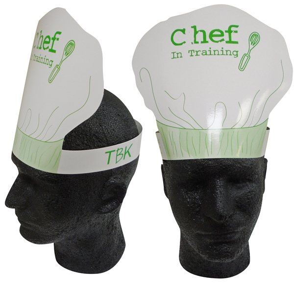 Promotional Chefs Hat Headband - Paper Products