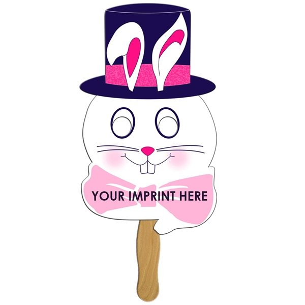 Promotional Bunny On A Stick - Paper Products