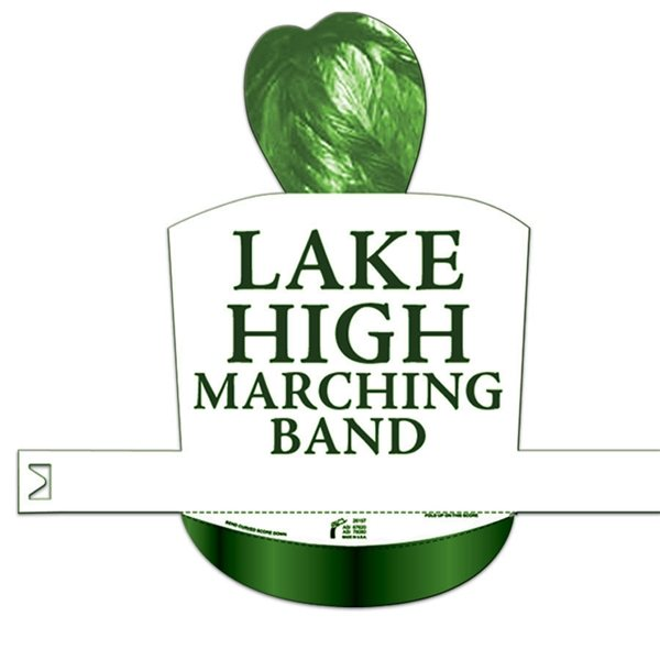 Promotional Marching Band Hat - Paper Products