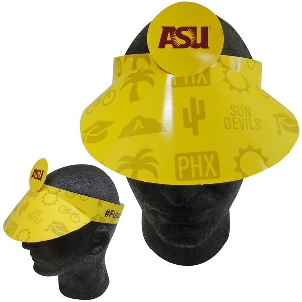 Promotional Pop - Up Visor - Paper Products
