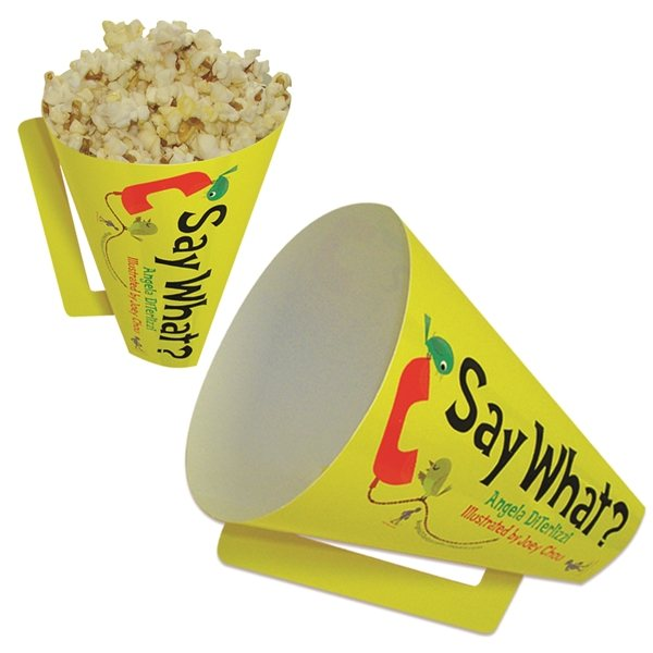 Promotional Round 8 Megaphone - Paper Products