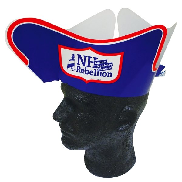 Promotional Colonial Tri Corner Hat - Paper Products
