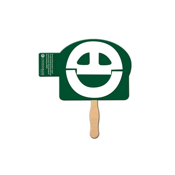 Promotional Dome Coupon Fan - Paper Products