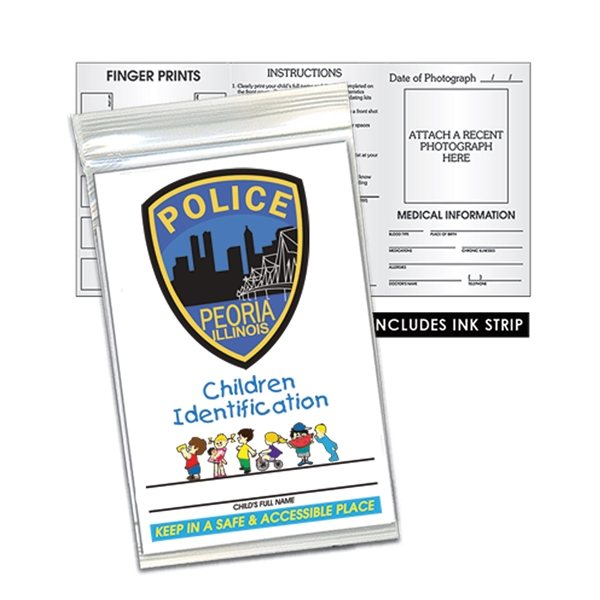 Promotional Child ID Kit - English - Paper Products