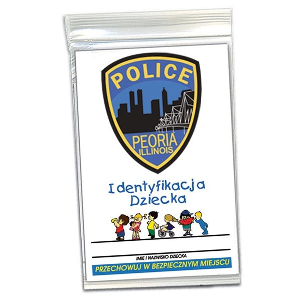 Promotional Child ID Kit - Polish - Paper Products
