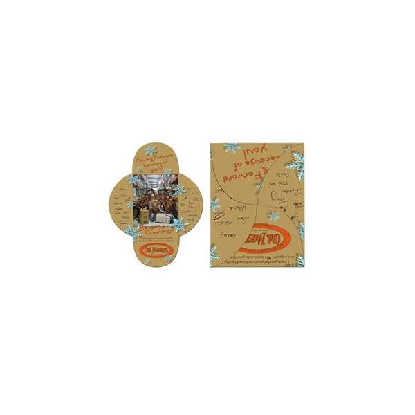 Promotional Self Locking Packet Folder - Paper Products
