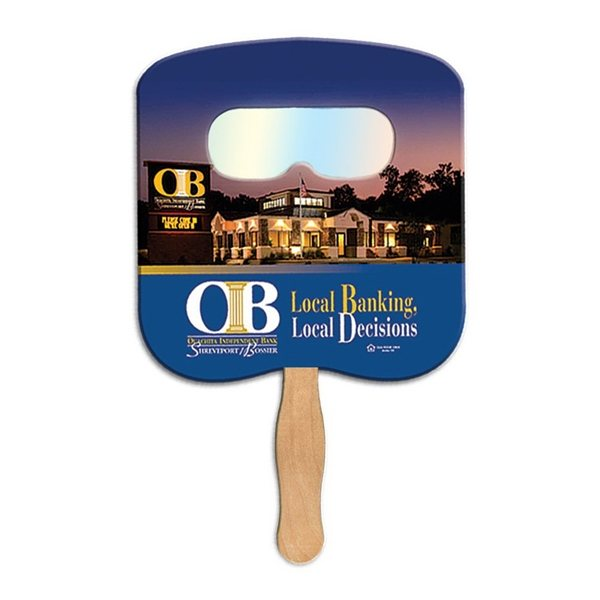 Promotional Bread Slice Fireworks Fan - Paper Products