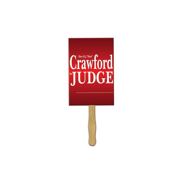 Promotional Jumbo Rectangle Rally Sign - Paper Products