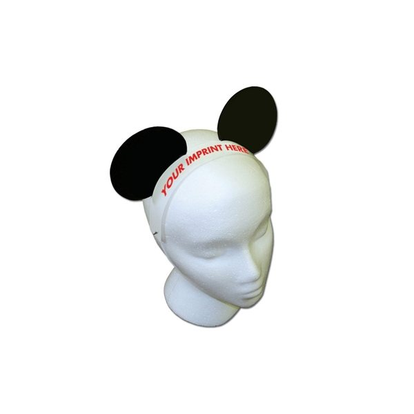 Promotional Mouse Ears W / Elastic Band - Paper Products