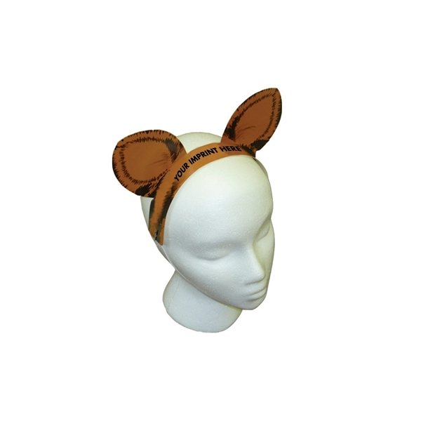 Promotional Tiger Ears W / Elastic Band - Paper Products