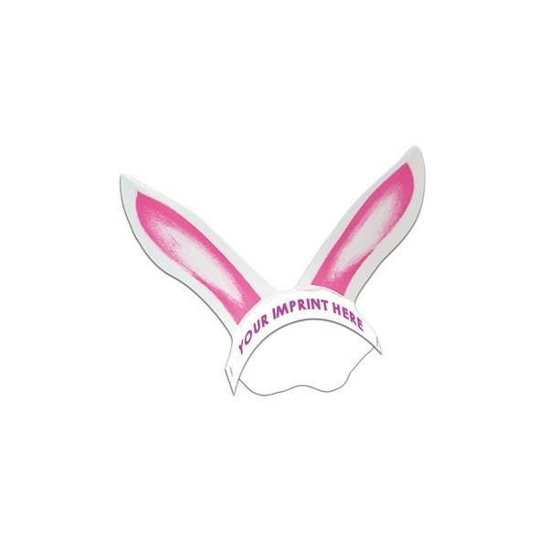 Promotional Rabbit Ears W / Elastic Band - Paper Products