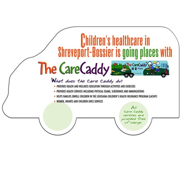 Promotional Truck Window Sign - Paper Products